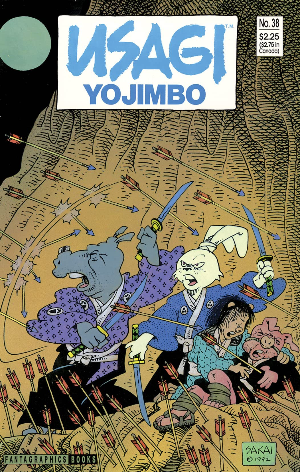 Usagi Yojimbo Vol. 1 #38