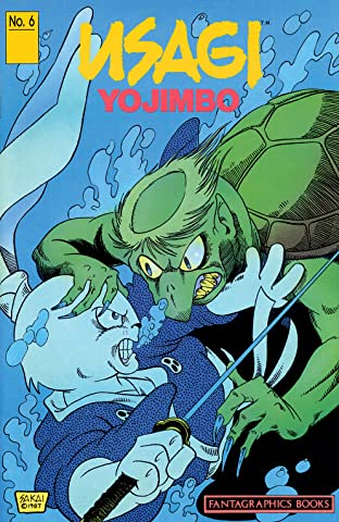 Usagi Yojimbo Tome 1 No.6