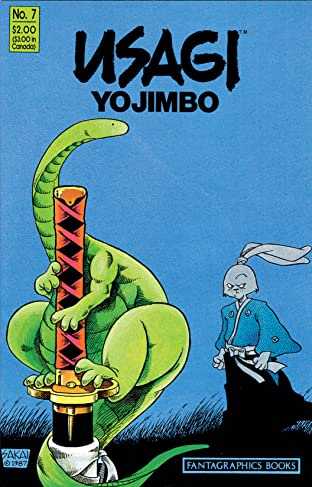 Usagi Yojimbo Tome 1 No.7