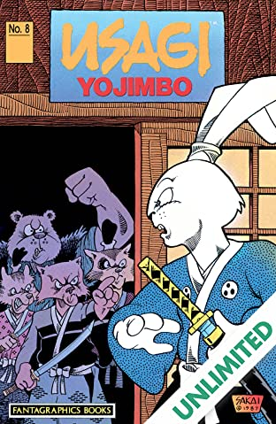 Usagi Yojimbo Vol. 1 #8