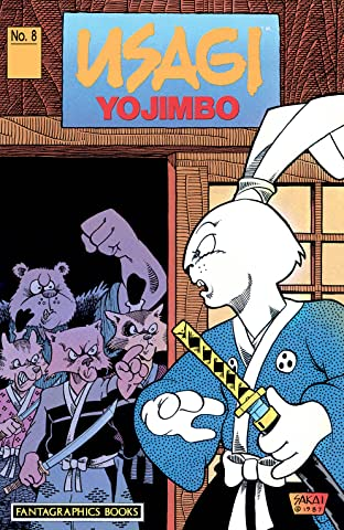 Usagi Yojimbo Tome 1 No.8