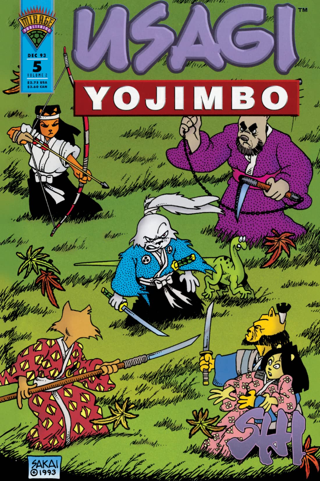Usagi Yojimbo Vol. 2 #5