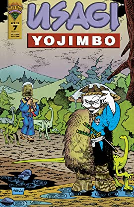 Usagi Yojimbo Vol. 2 #7