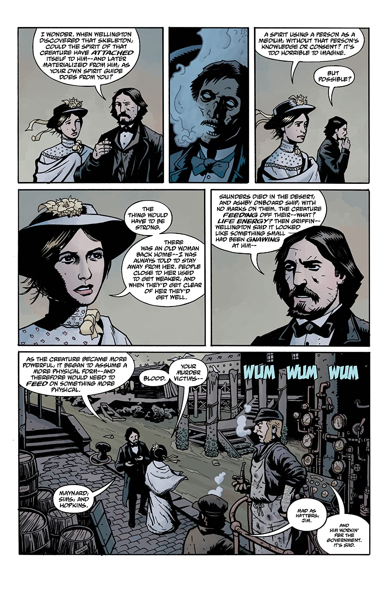 Witchfinder: In the Service of Angels #3