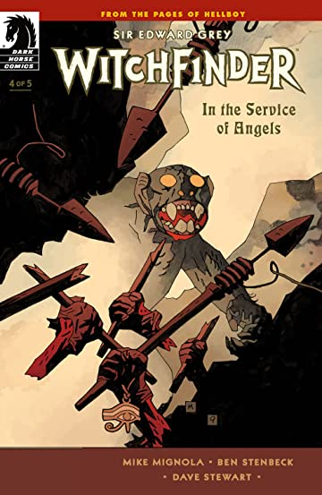 Witchfinder: In the Service of Angels #4