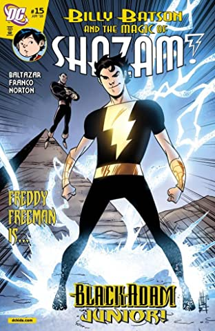 Billy Batson and the Magic of Shazam! No.15