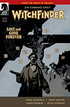Witchfinder: Lost and Gone Forever No.1
