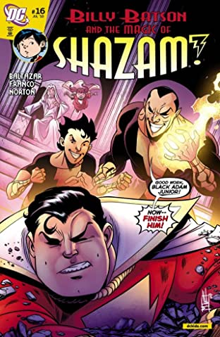 Billy Batson and the Magic of Shazam! No.16