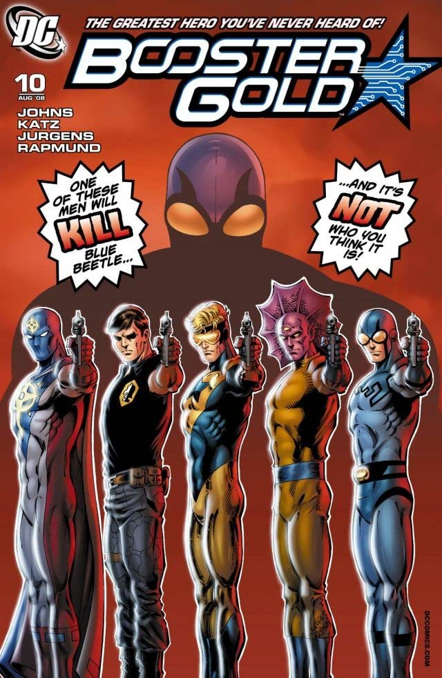 Booster Gold (2007-2011) #10