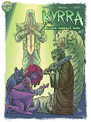 Kyrra: Alien Jungle Girl #7