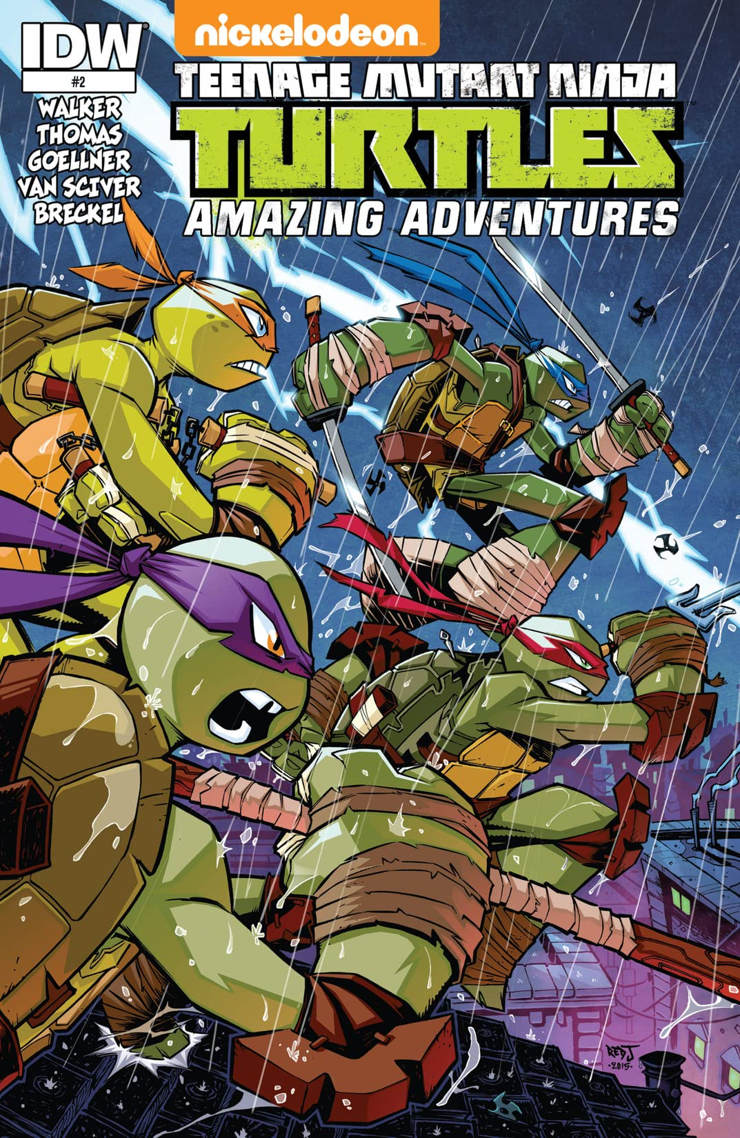 Teenage Mutant Ninja Turtles: Amazing Adventures #2