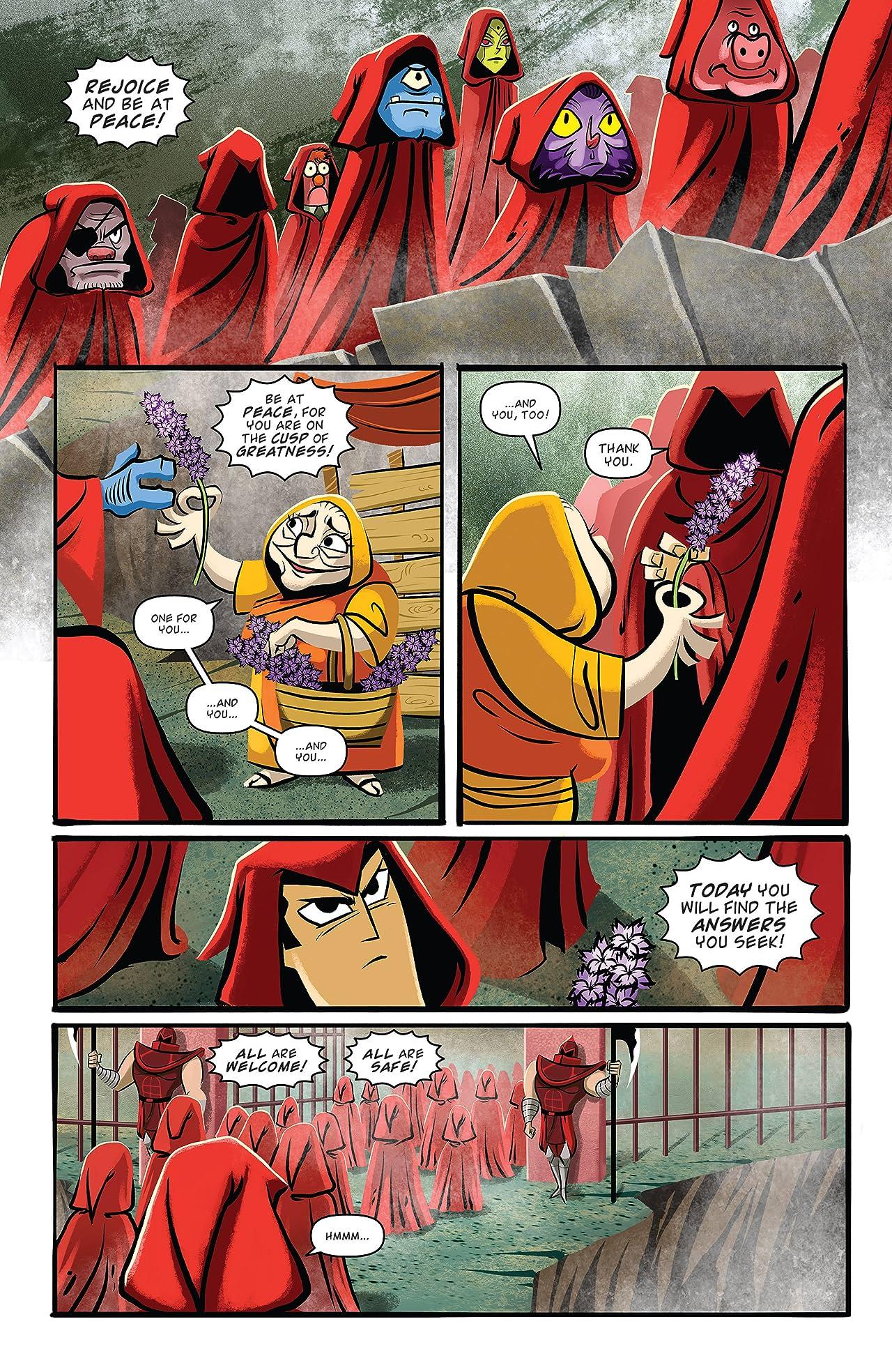 Samurai Jack Vol. 4: Warrior King