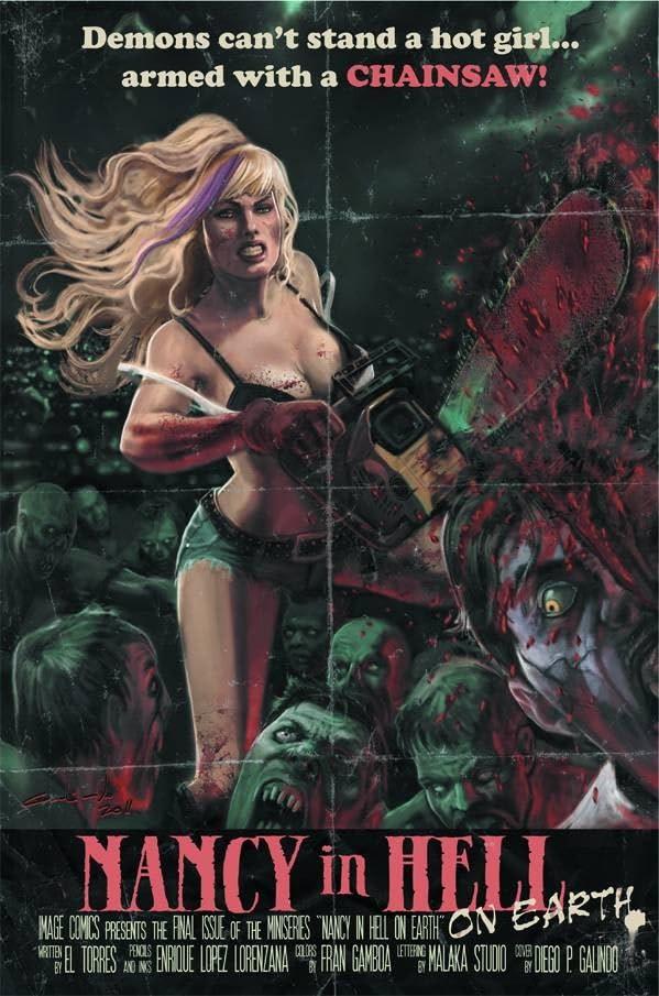 Nancy In Hell On Earth #4 (of 4)