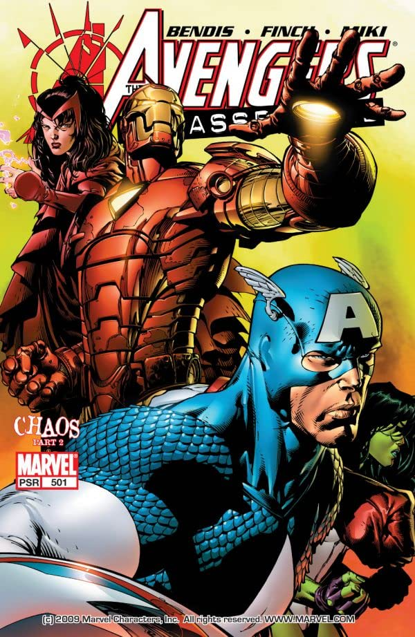 Avengers (1998-2004) (#86) #501