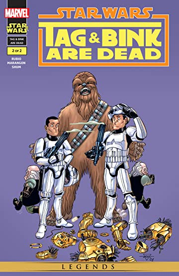 Star Wars: Tag & Bink Are Dead (2001) #2 (of 2)