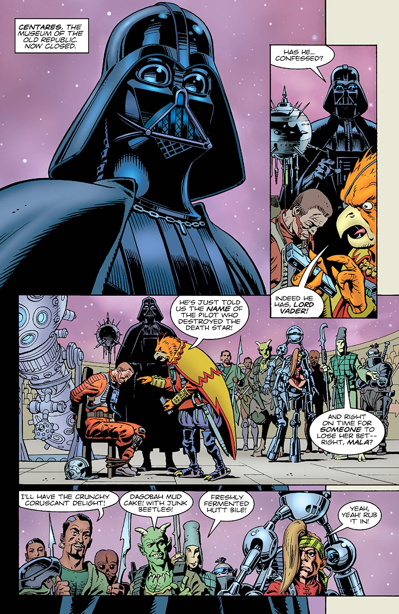 Star Wars: Vader's Quest (1999) #1 (of 4)