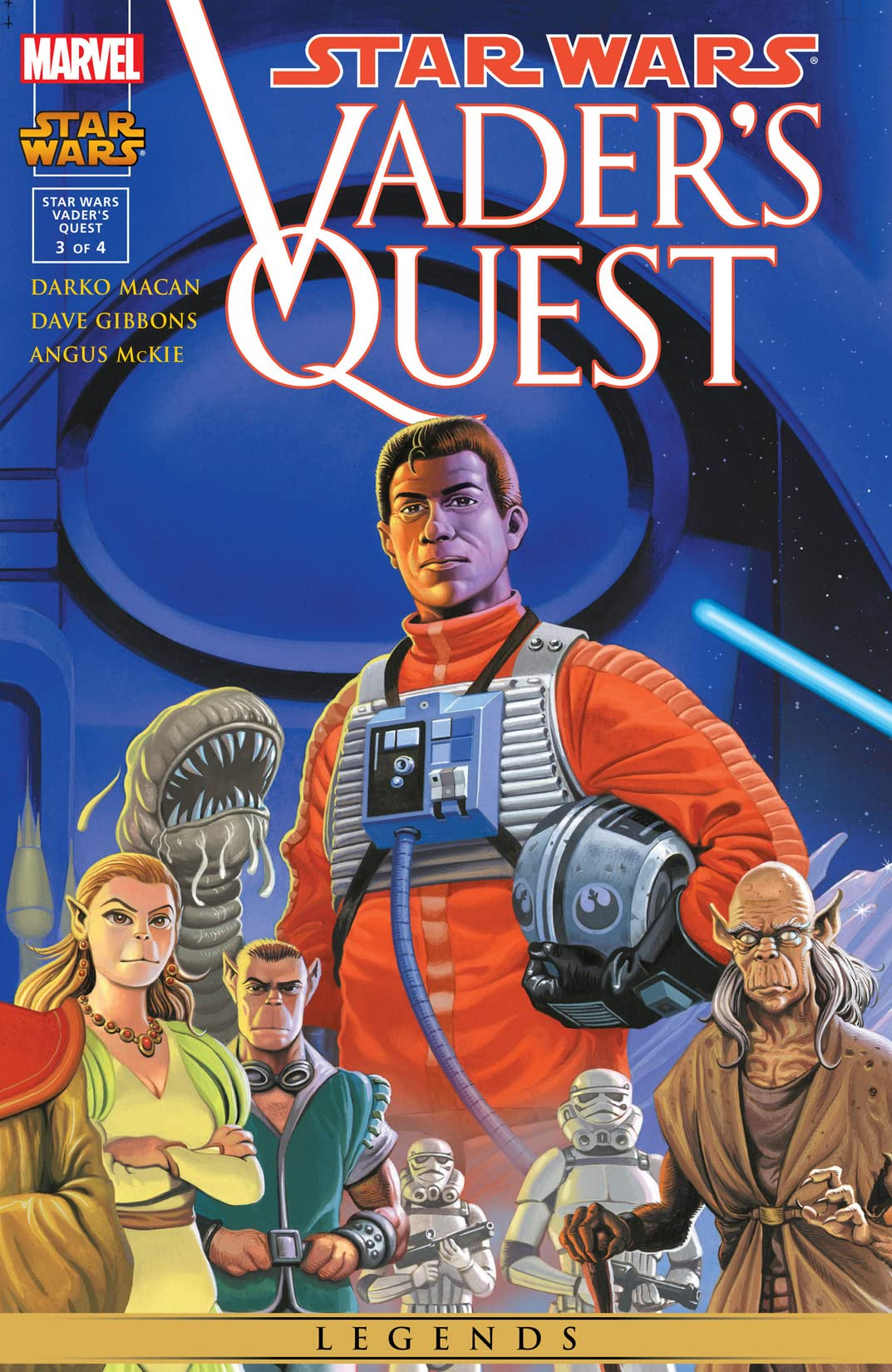 Star Wars: Vader's Quest (1999) #3 (of 4)