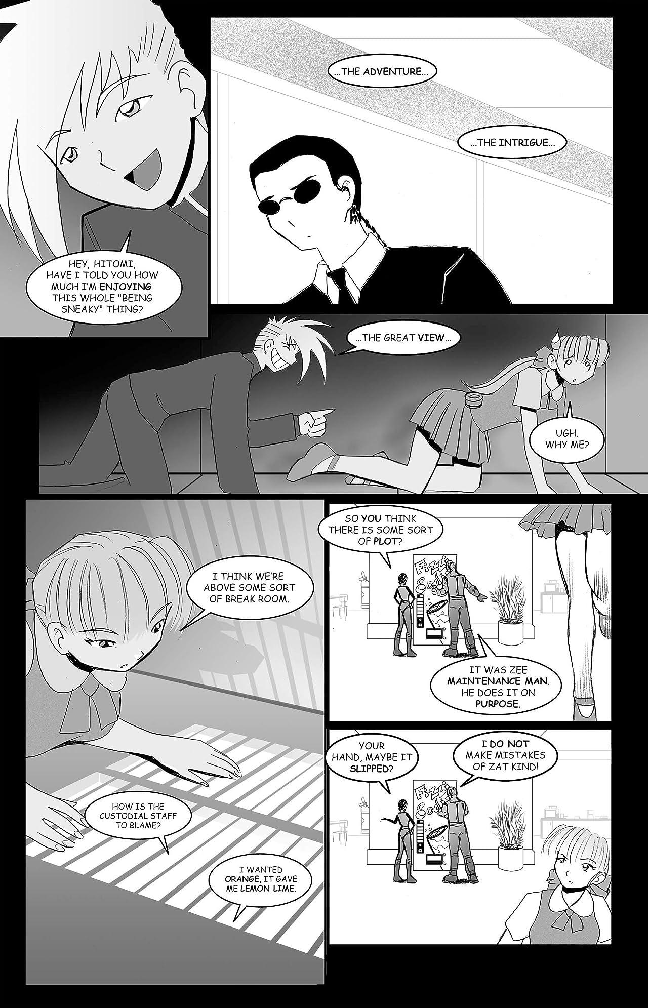 Ninja High School #116