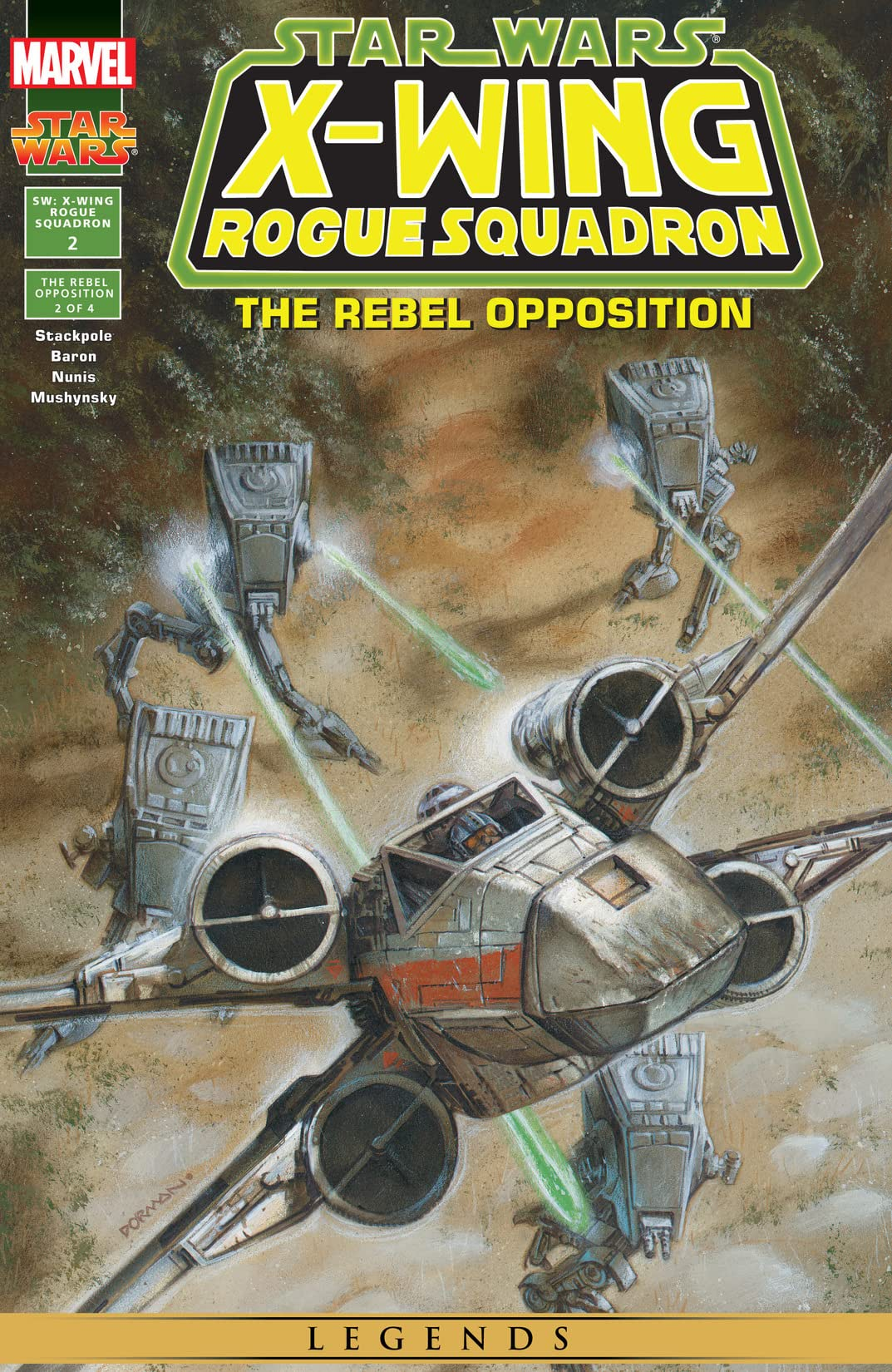 Star Wars: X-Wing Rogue Squadron (1995-1998) #2