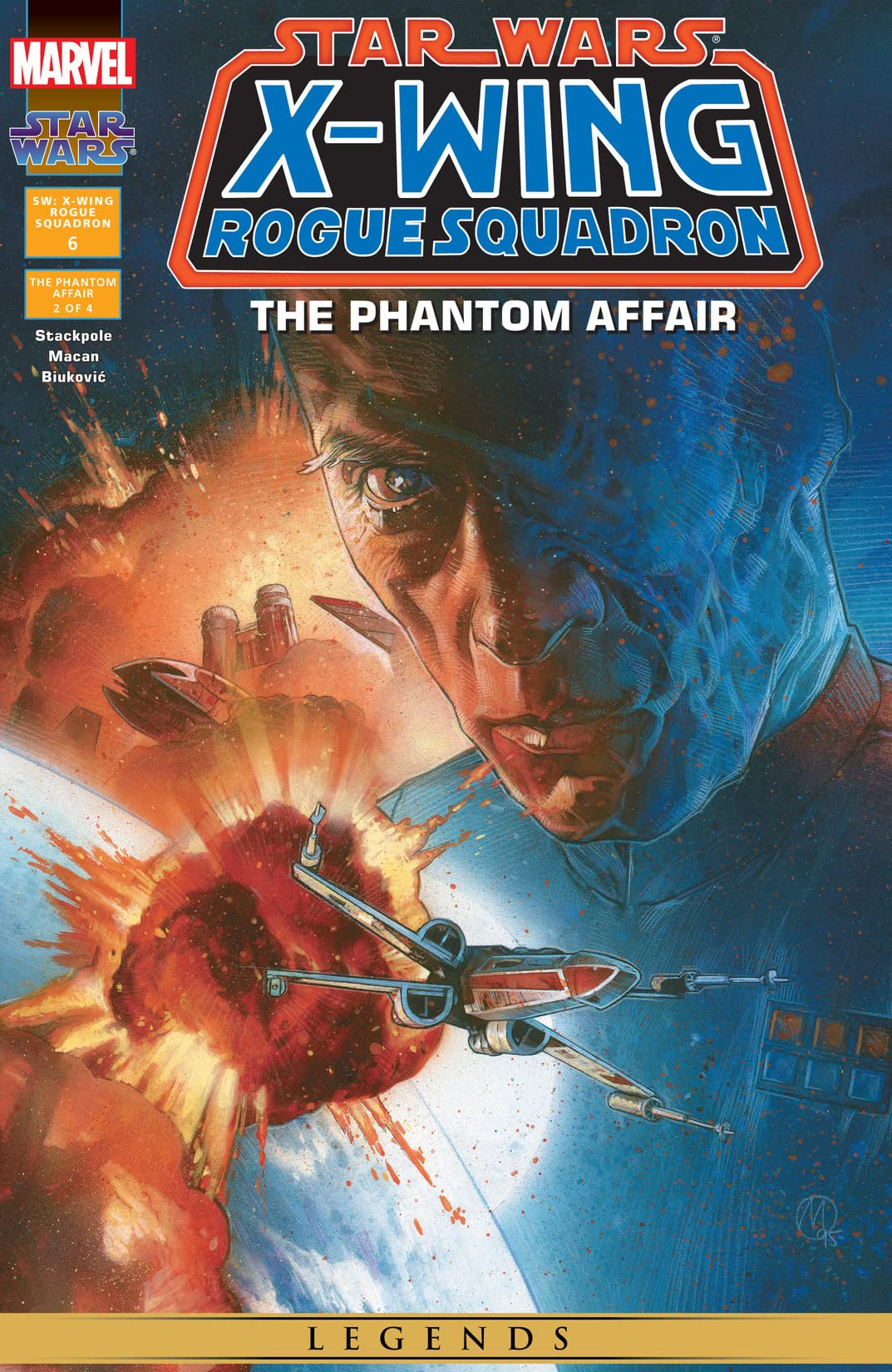 Star Wars: X-Wing Rogue Squadron (1995-1998) #6