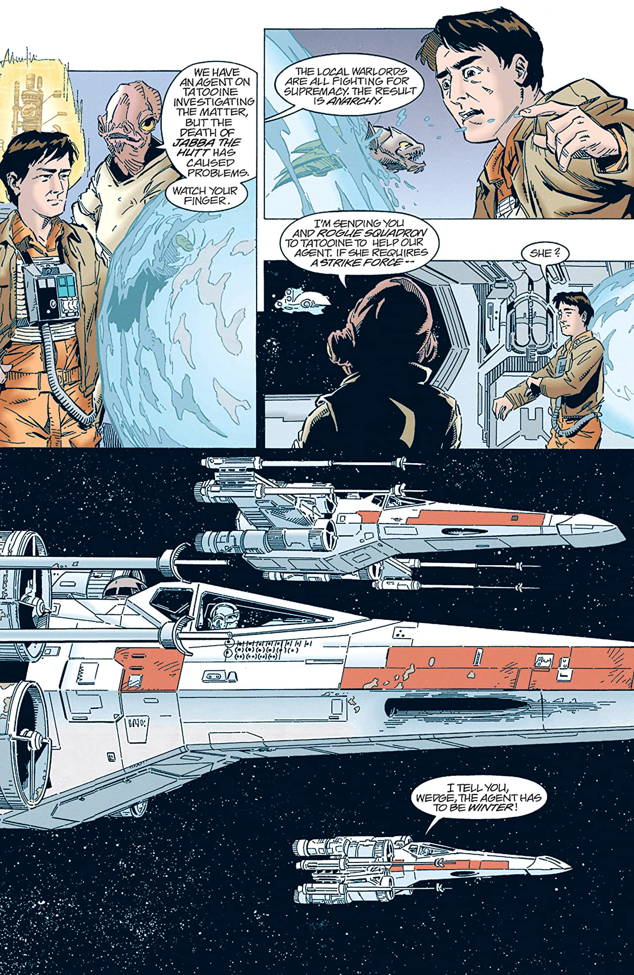 Star Wars: X-Wing Rogue Squadron (1995-1998) #9