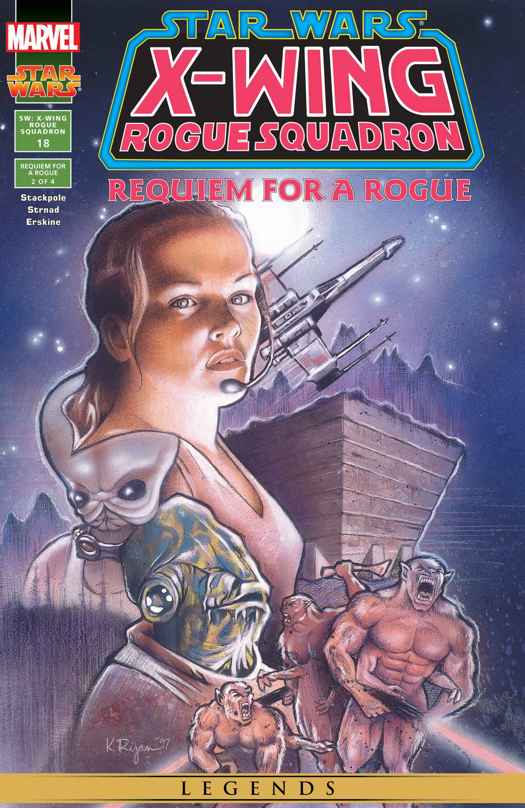 Star Wars: X-Wing Rogue Squadron (1995-1998) #18