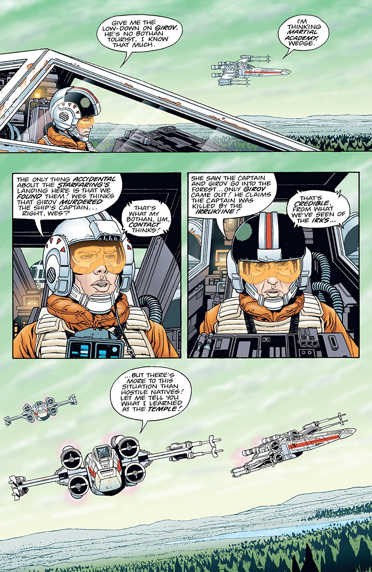 Star Wars: X-Wing Rogue Squadron (1995-1998) #19
