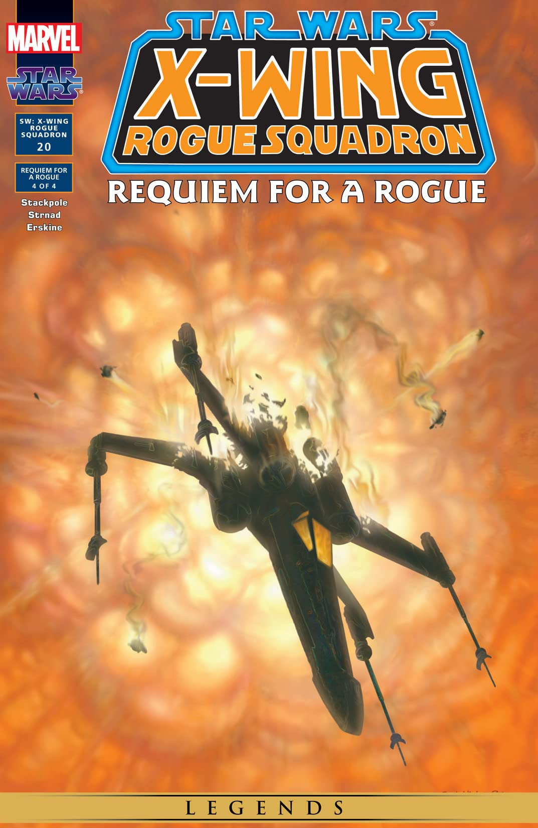 Star Wars: X-Wing Rogue Squadron (1995-1998) #20