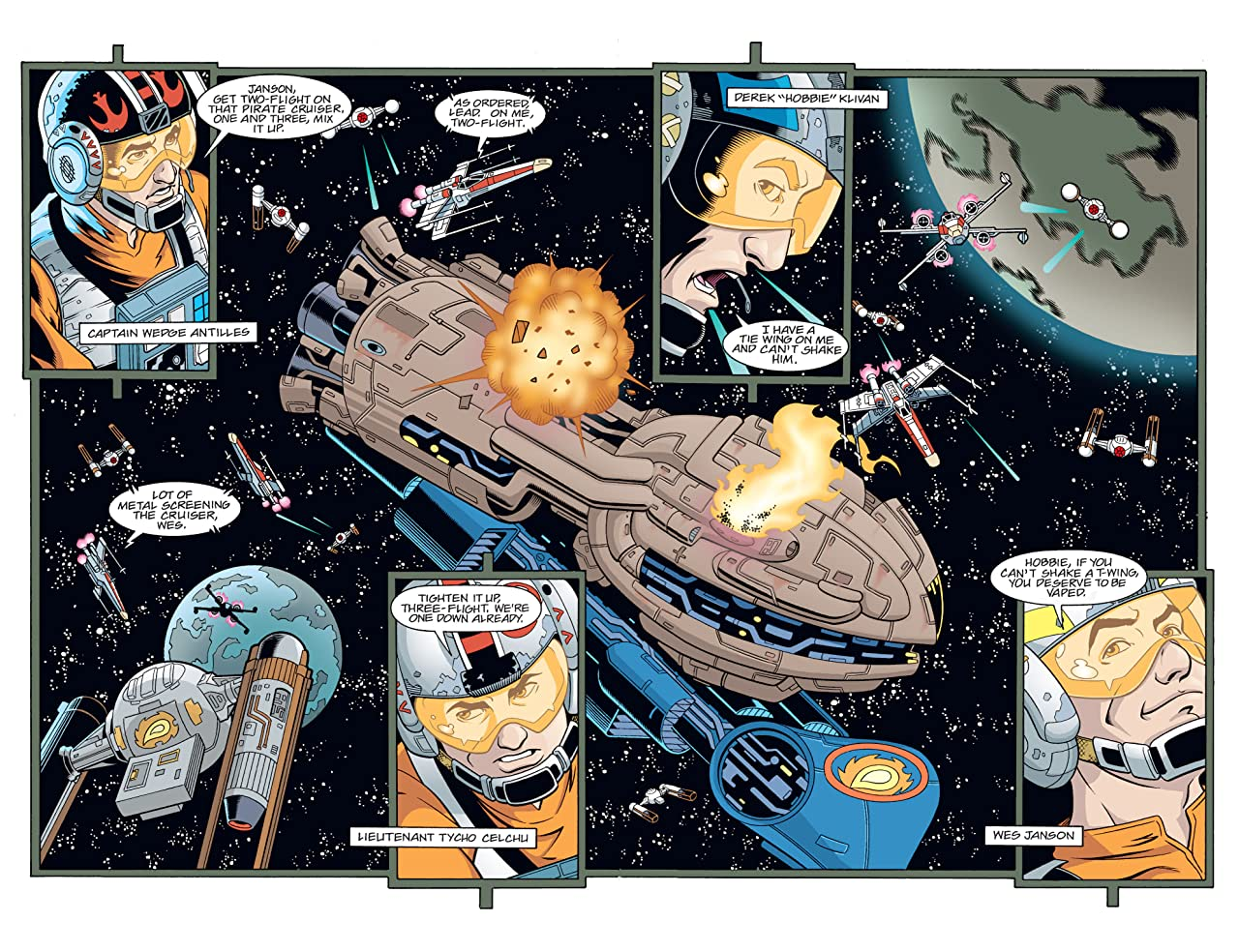 Star Wars: X-Wing Rogue Squadron (1995-1998) #28