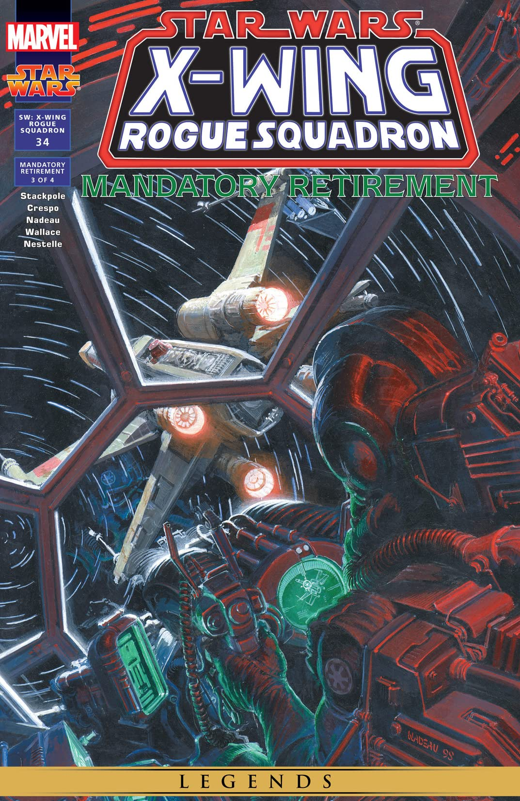 Star Wars: X-Wing Rogue Squadron (1995-1998) #34