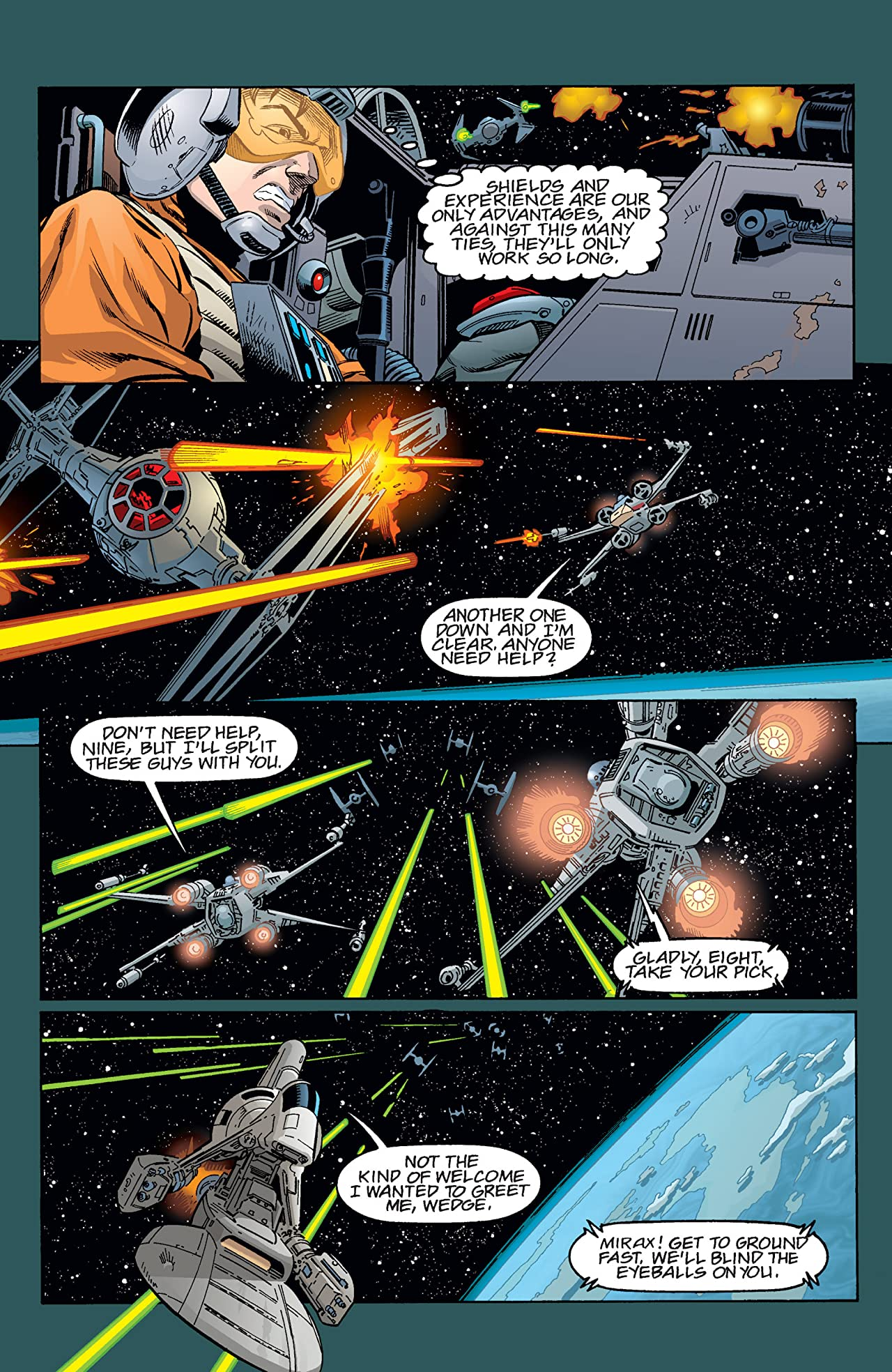 Star Wars: X-Wing Rogue Squadron (1995-1998) #35