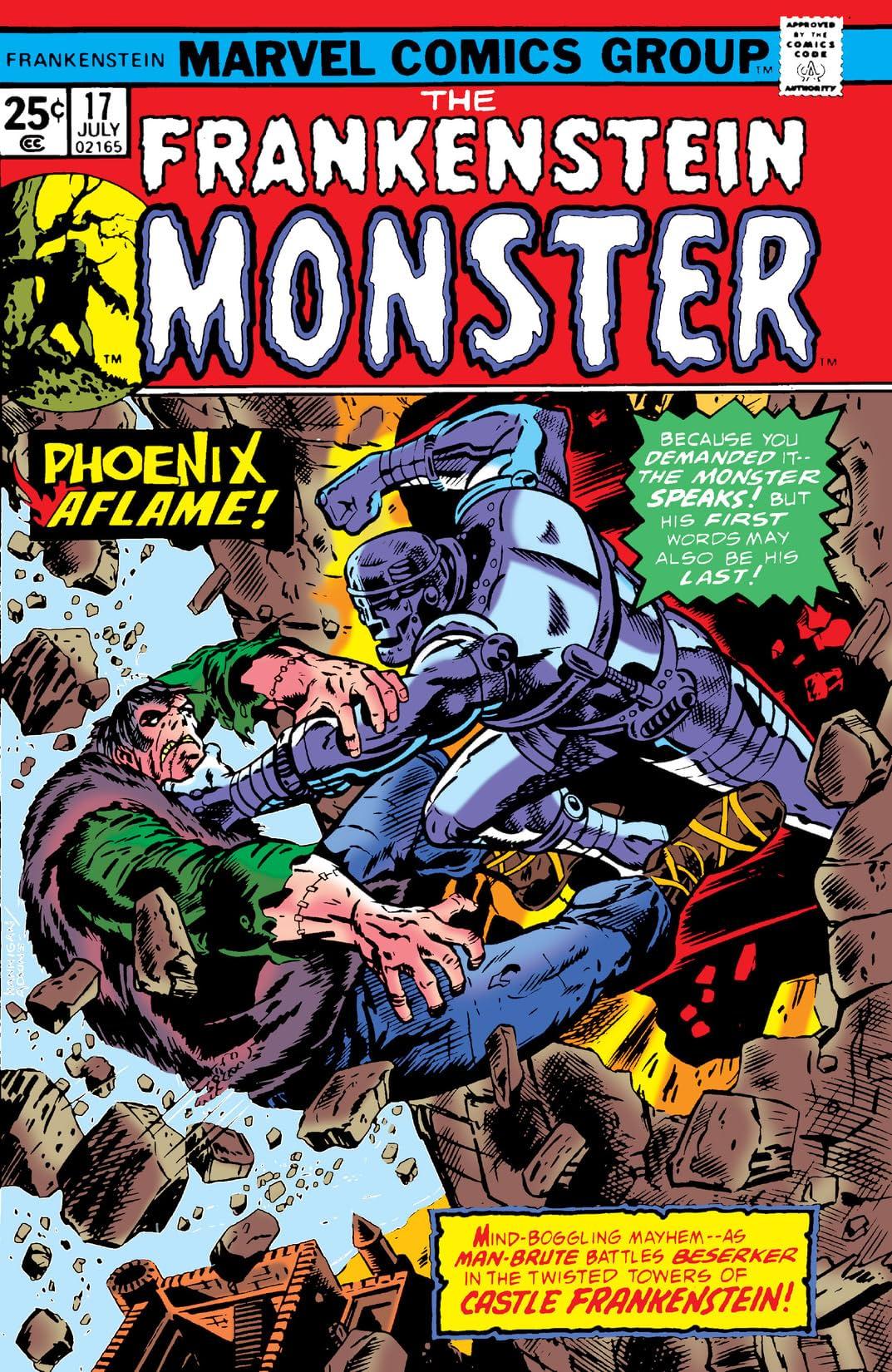 Frankenstein (1973-1975) #17