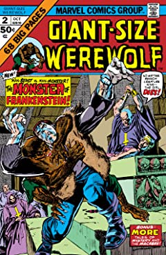 Giant-Size Werewolf By Night (1974-1975) #2