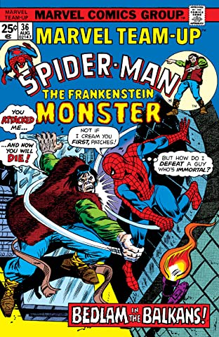 Marvel Team-Up (1972-1985) #36