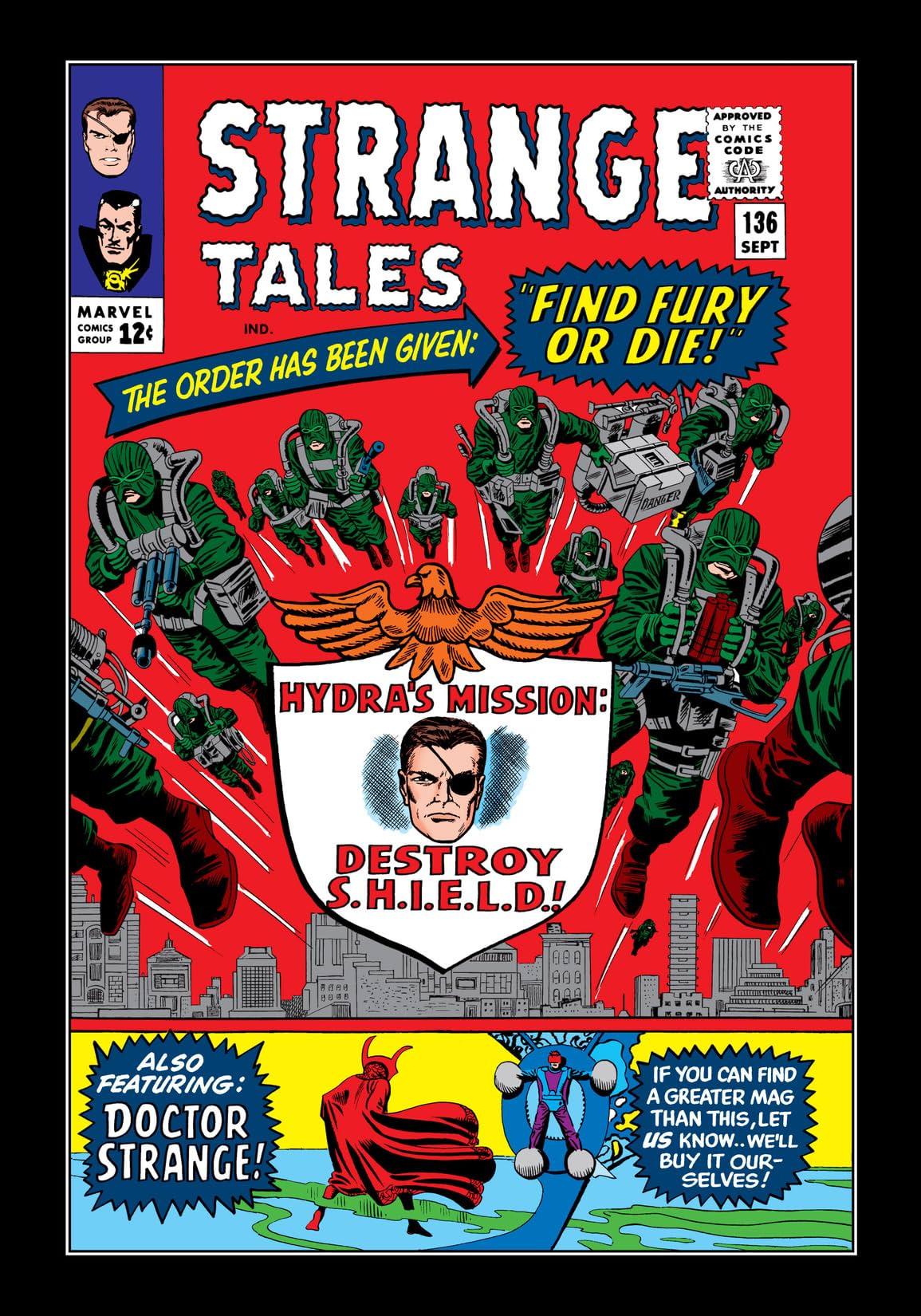 Strange Tales (1951-1968) #136