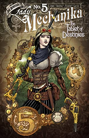 Lady Mechanika: The Tablet of Destinies No.5