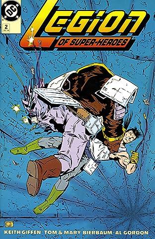 Legion of Super-Heroes (1989-2000) No.2