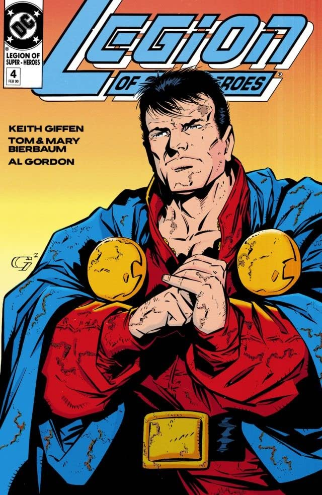 Legion of Super-Heroes (1989-2000) #4