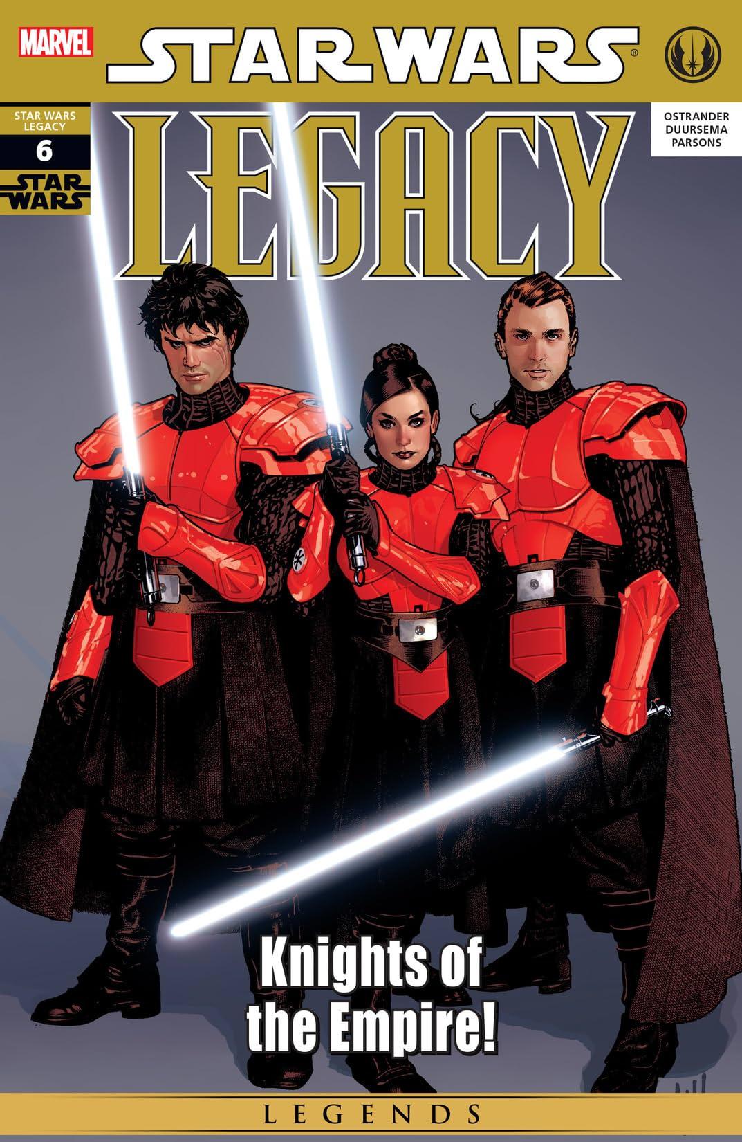 Star Wars: Legacy (2006-2010) #6