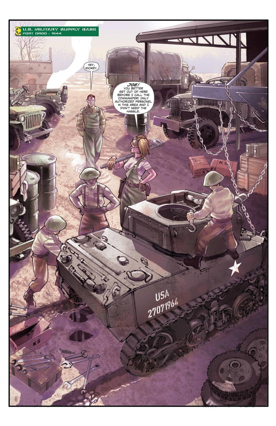 Dust Wars #2 (of 3)