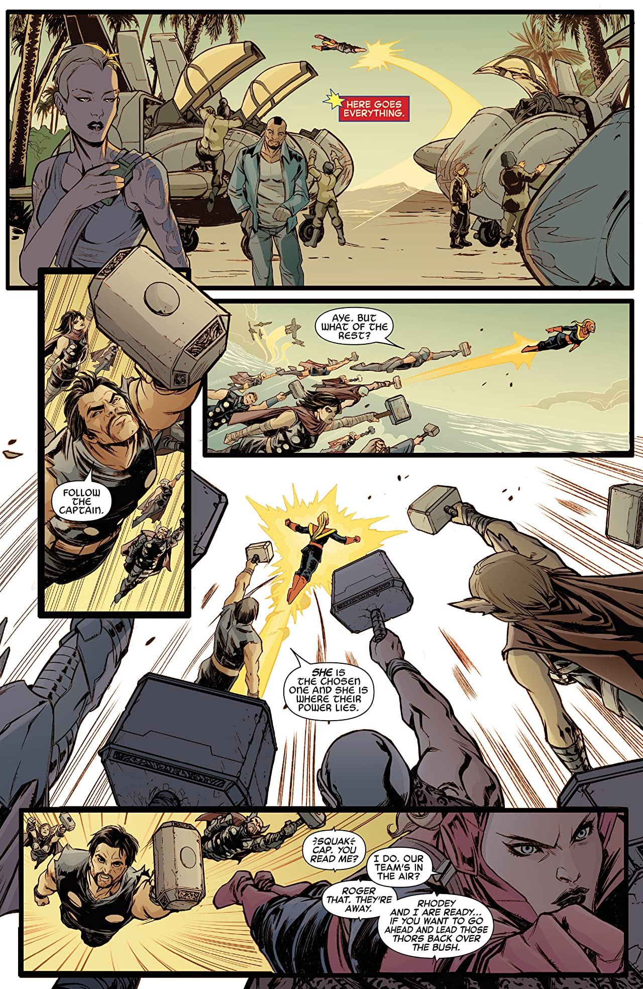 Captain Marvel and the Carol Corps (2015) #4