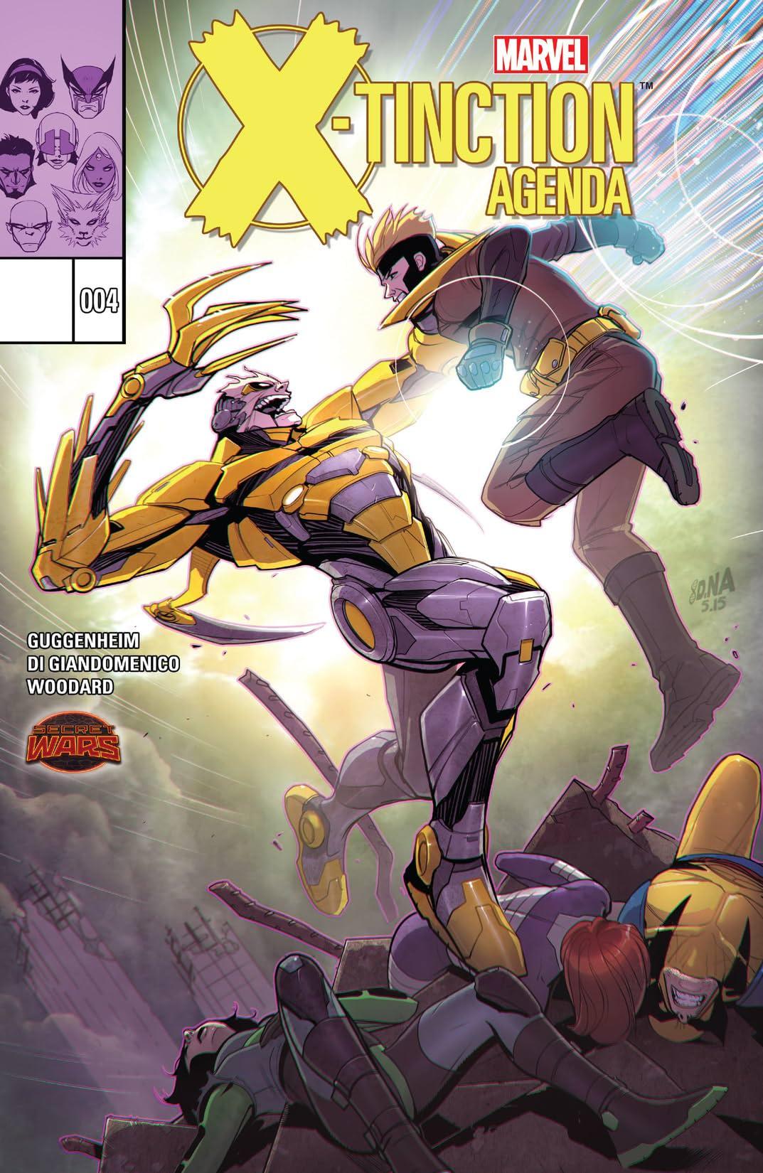 X-Tinction Agenda (2015) #4