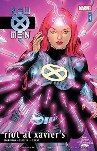 New X-Men By Grant Morrison Vol. 4: Riot At Xavier's