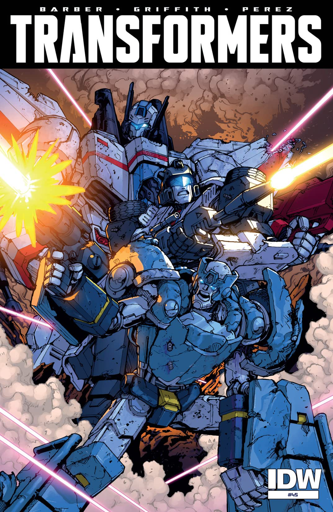 Transformers (2011-) #45