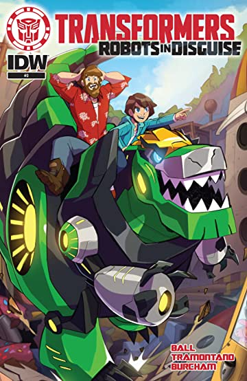 Transformers: Robots In Disguise Animated (2015-2016) #3