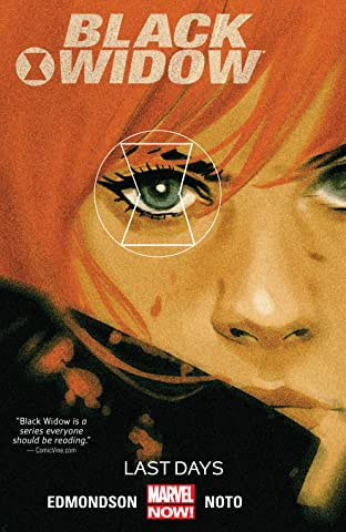 Black Widow Vol. 3: Last Days