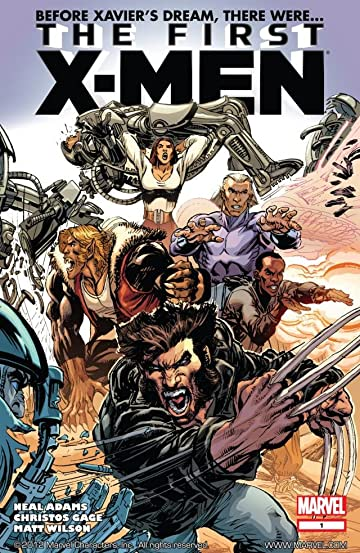 First X-Men #1 (of 5)