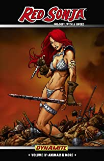 Red Sonja: She-Devil With a Sword Vol. 4: Animals & More