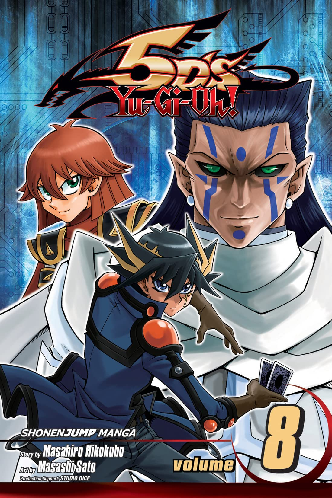 Yu-Gi-Oh! 5D's Tome 8