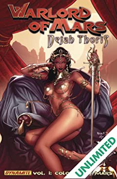 Warlord of Mars: Dejah Thoris Vol. 1: Colossus of Mars